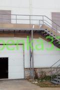 Пожарная лестница на производство компании ООО «Технокомф СТ» в д.Ставрово Владимирской области