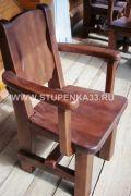 Стол и стулья из массива