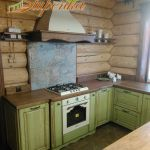 Кухня из массива дерева