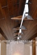 Потолок из массива дерева