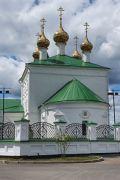 Комплекс оформления территории церкви художественной ковкой в с. Великово.