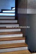 Изготовление лестницы из массива дуба