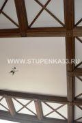 Кесонный потолок в кабинете