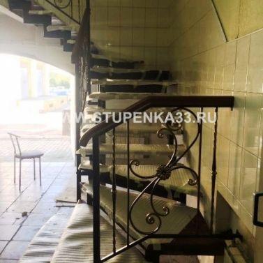 Лестница в кафе в г. Владимир