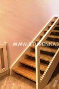 Межэтажная лестница из лиственницы